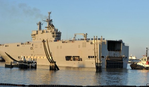 Euros Loss on Mistral Naval Ship