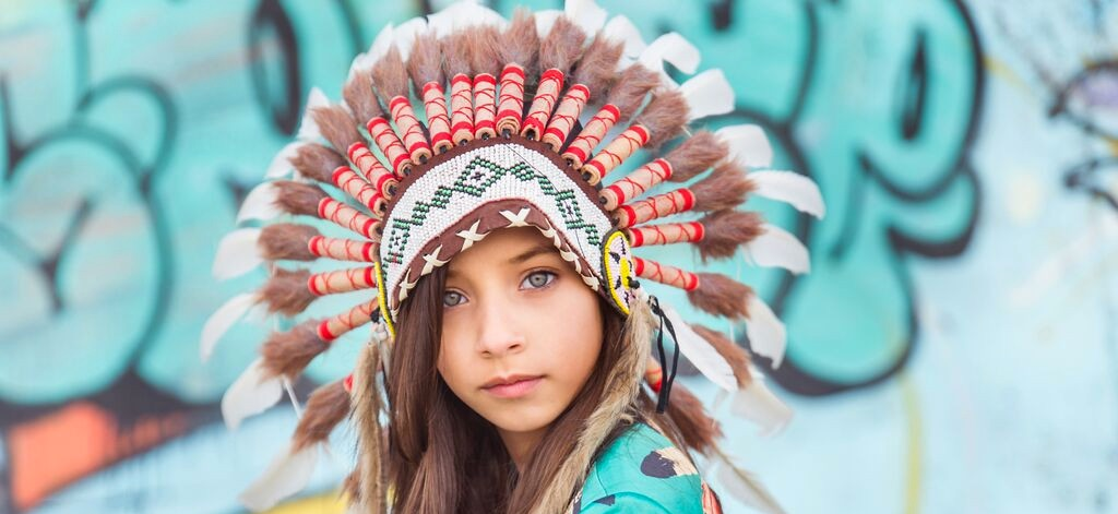 Opinion Young native american girl for that