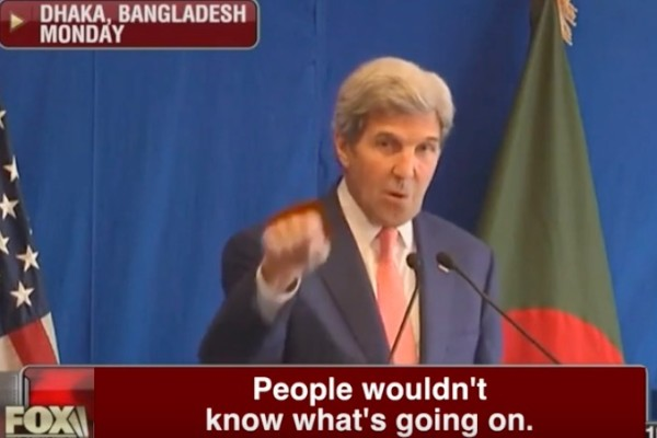Speech of John Kerry Can Motivate More Terrorist Activities