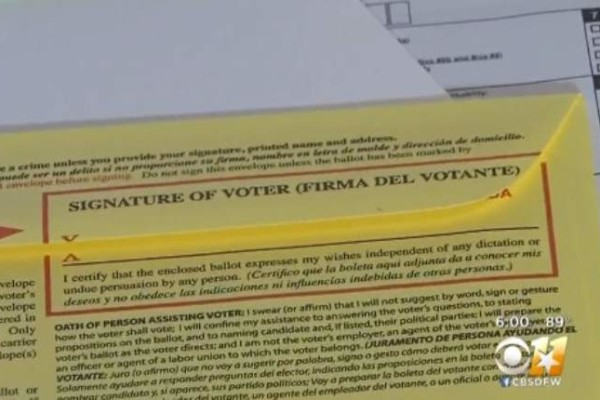 Texas has Started Investigation for Alleged Voter Fraud in the State