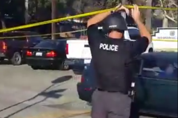 Shooting Near Polling Place in Los Angeles on 8th November 2016