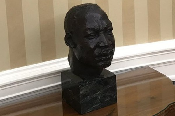 bust of Marin Luther King, Jr