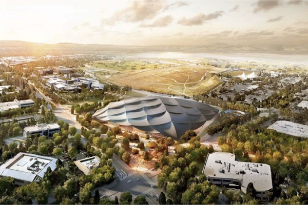 What is Futuristic Campus plan of Google?