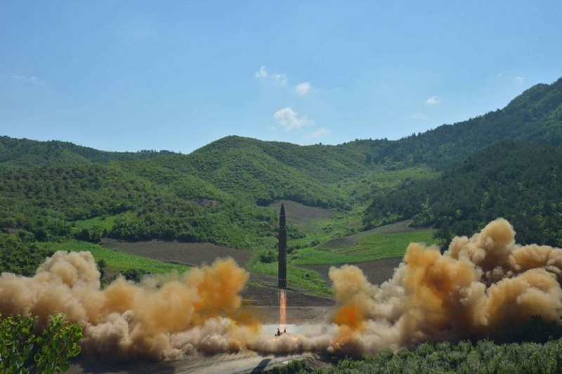 New Test of Intercontinental Ballistic Missile by North Korea and the U.S Response!