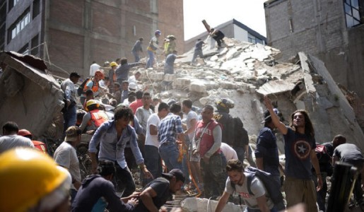7.1 Magnitude Earthquake in Central Mexico Collapsed Buildings & Killed more than 225 People