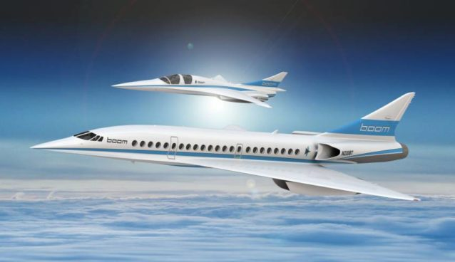 Supersonic Jet of Boom