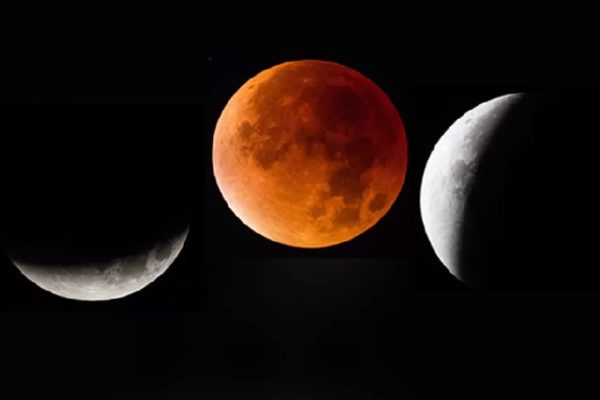 Blue Moon and Total Lunar Eclipse