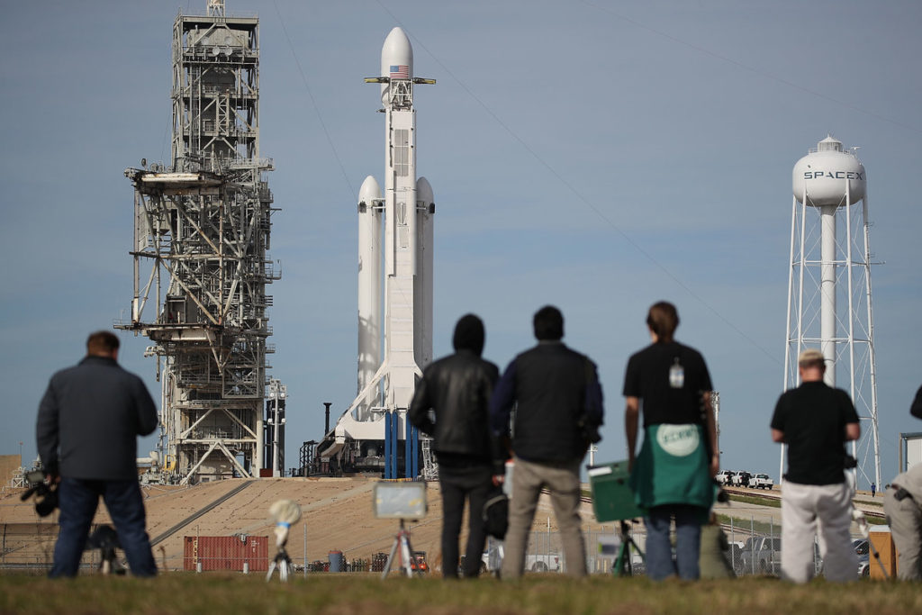 Falcon Heavy to be launched