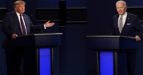 President Trump and Joe Biden used different Body Language during First Debate